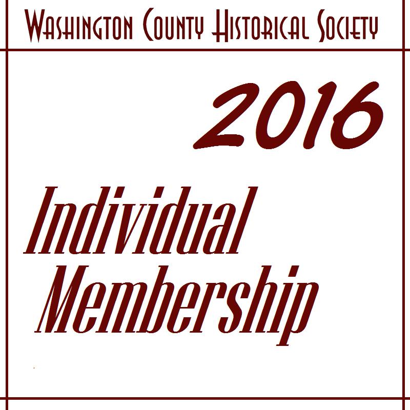 WCHS Individual Membership - 2017
