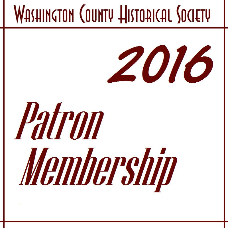 WCHS Patron Membership - 2017