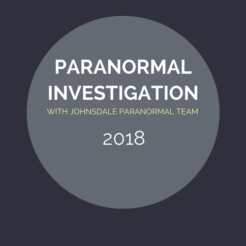 Paranormal Investigation Event