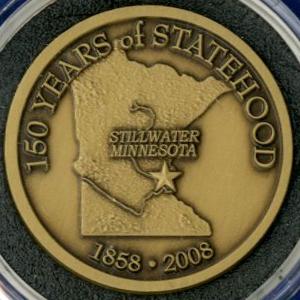 Minnesota Statehood Sesquicentennial Coin