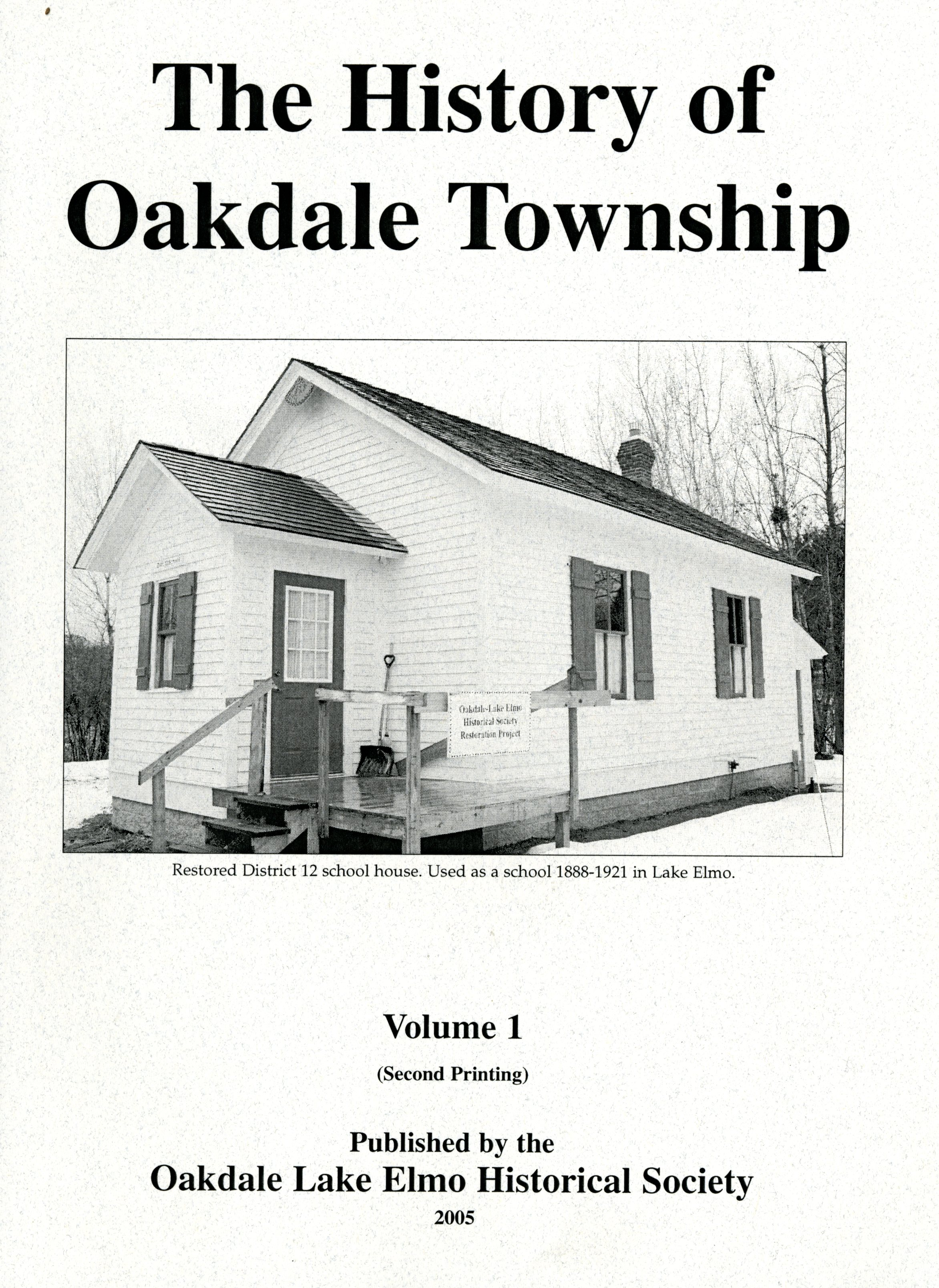 The History of Oakdale Township
