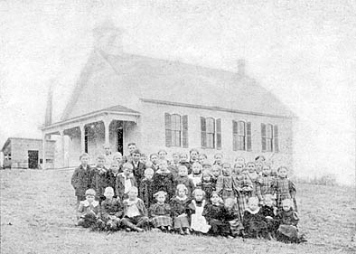 "This photo appeared in the August 3, 1898 The Stillwater Gazette (weekly), part of the ""Our County Public Schools Series"" column (see this issue for a detailed history of the school district up to that time)."