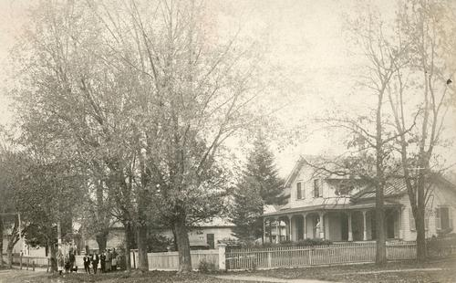 A view of a home in Afton.