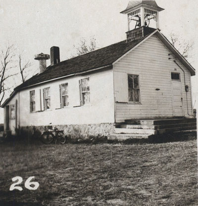 Fish Lake School in 1954.