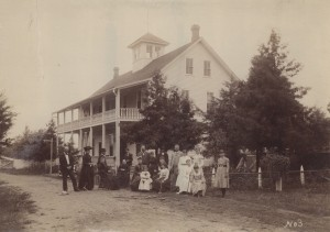 Forest Lake - Marsh Hotel August 1890