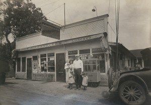 Mahtomedi Chandlers store ca. 1920s