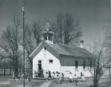 The Marty School in circa 1950.
