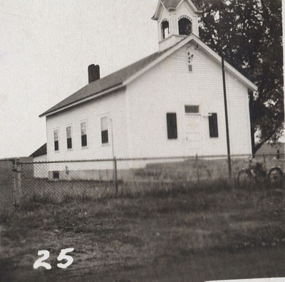Middleton School in 1954