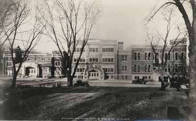 Stillwater High School, photo by John Runk, December 4, 1923