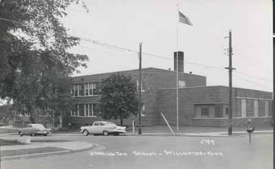 Washington School in 1957.