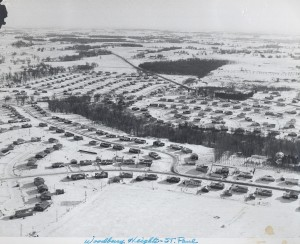 Woodbury Heights aerial photo