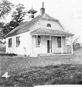 Arcola School in 1952.