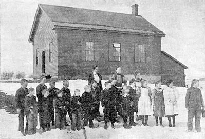 "This photo appeared in the February 22, 1899 Stillwater Gazette (weekly edition), part of the ""Our County Public Schools Series"" column. (See that issue for a detailed history of the school district up to that time.)"
