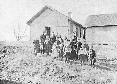 "This photo appeared in the August 24, 1898 Stillwater Gazette (weekly edition), part of the ""Our County Public Schools Series"" column. (See that issue for a detailed history of the school district up to that time.)"