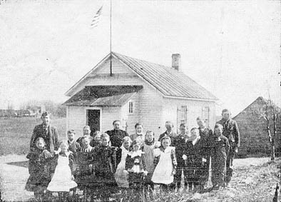 """This photo appeared in the April 15, 1899 The Stillwater Gazette (weekly), part of the """"Our County Public Schools Series"""" column (see this issue for a detailed history of the school district up to that time)."""