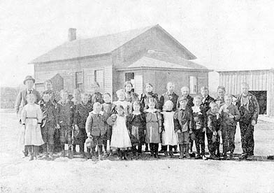 "This photo appeared in the September 14, 1898 The Stillwater Gazette (weekly), part of the ""Our County Public Schools Series"" column (see this issue for a detailed history of the school district up to that time)."