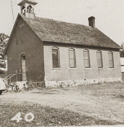 Lynch School in 1952.