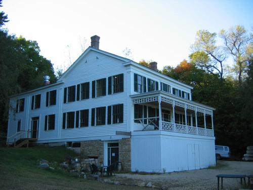 The Mower-Van Meier house at Arcola Mills.
