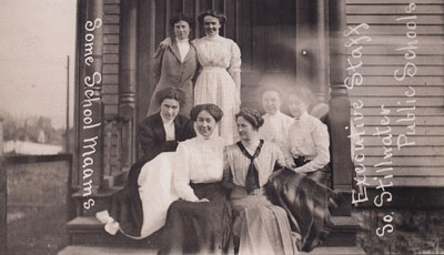 Bayport school teachers, 1910