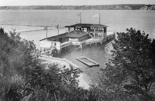 """The Anchorage"", Stillwater lumberman George H. Atwood's cabin at Lake St. Croix Beach. (John Runk)"