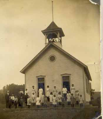 Valley Creek School in 1912