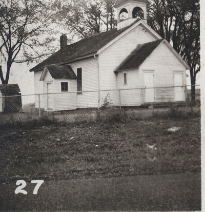 The Woodbury School in 1954.