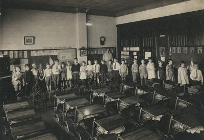 Mahtomedi School students in 1926