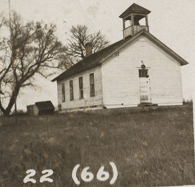 Swede Hill School in 1952