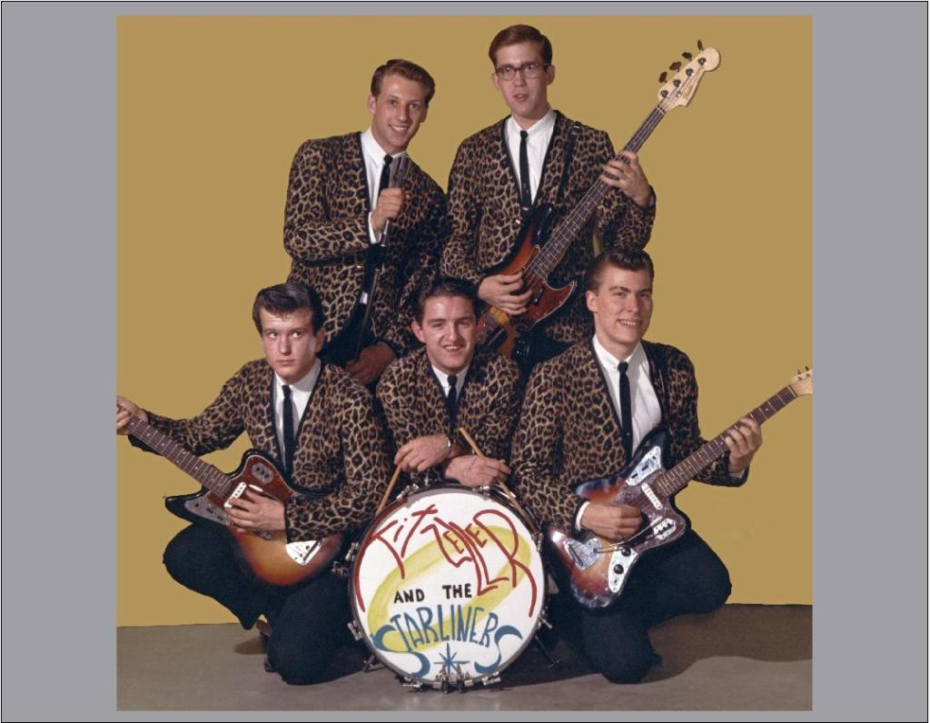 Keith Zeller and the Starliners with their matching outfits.