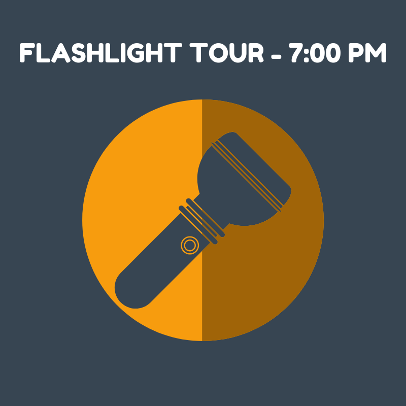 Flashlight Tour - 7:00 PM SOLD OUT