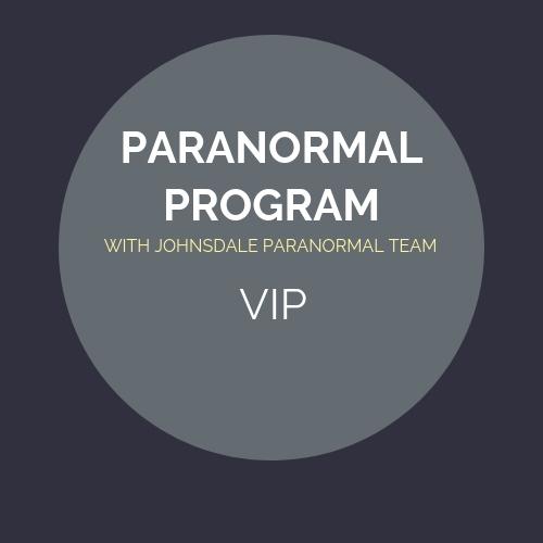 Paranormal Program - VIP